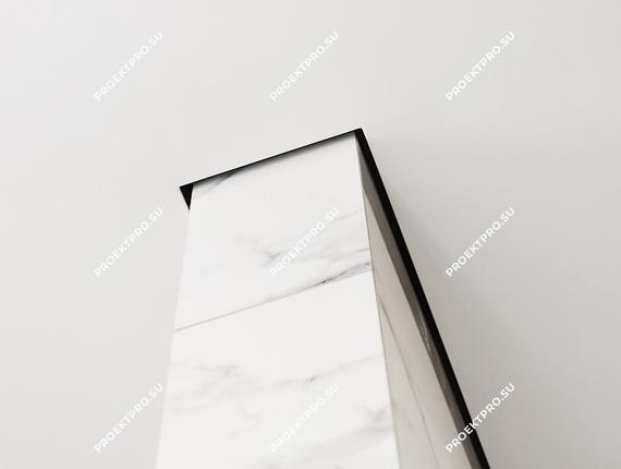 Теневые швы у натяжного потолка и идеальные углы